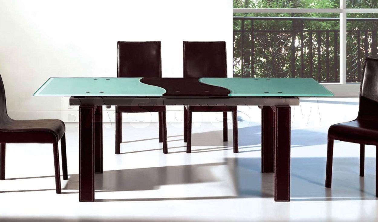 Modern Frosted Glass Kitchen Table Httpmanageditservicesatlanta - Frosted glass kitchen table