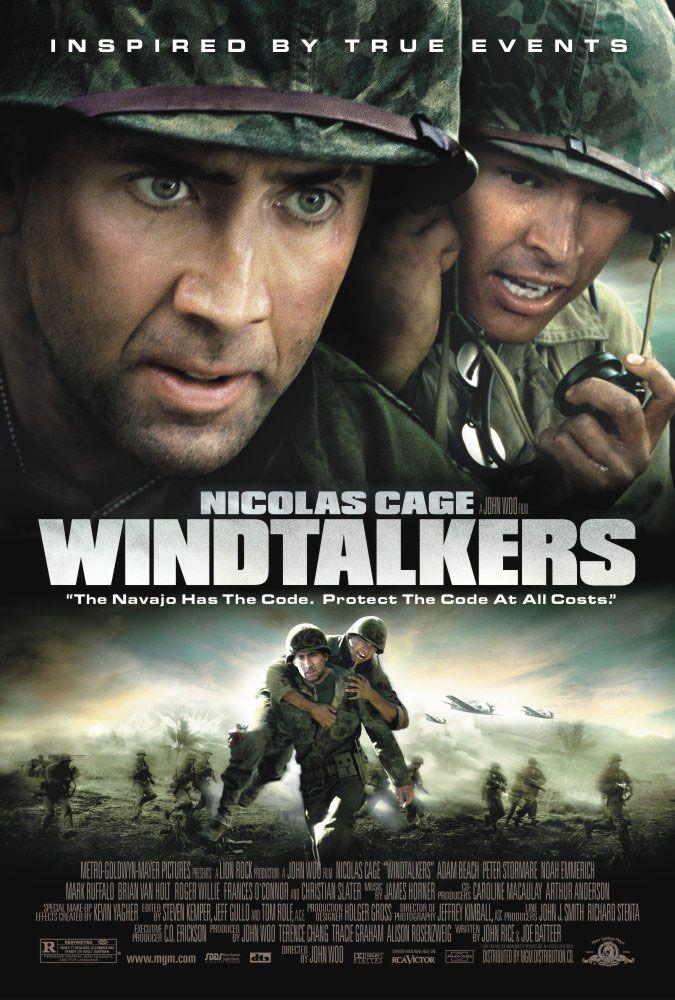 Windtalkers Les Messagers Du Vent A10 Jpg Image Jpeg 675 1000 Pixels Film De Guerre Film Streaming Films De Guerre