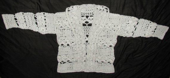 d4a2351799 PDF Creepy Cardigan Skull Sweater | Products | Pinterest | Crochet ...
