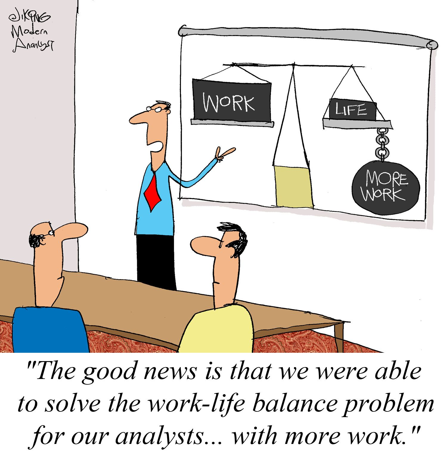 Humor > Work-Life Balance for the Business Analysts | Work