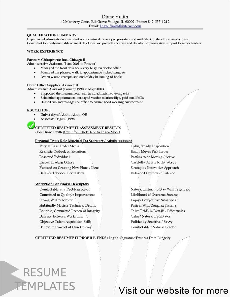 resume templates word format Best 2020 in 2020 Resume