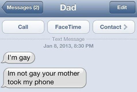 LOL - Troll mom sends a text - www.funny-pictures-blog.com