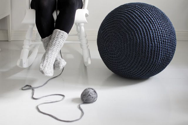 Crocheted gym ball!