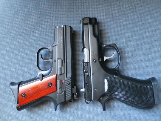 CZ 2075 RAMI and CZ-75 Compact
