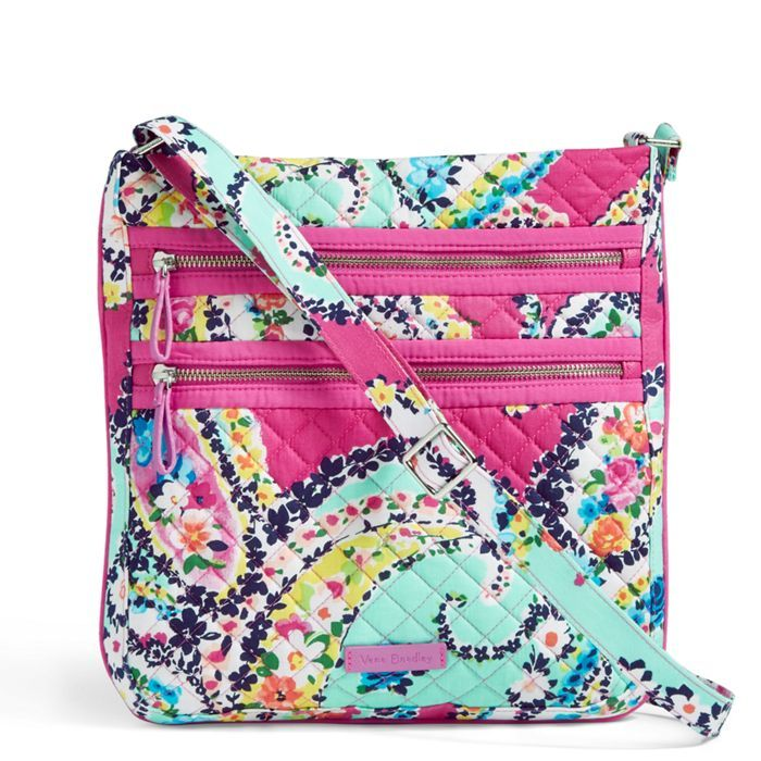 Image of Iconic Triple Zip Hipster in Wildflower Paisley  5f748933cda98
