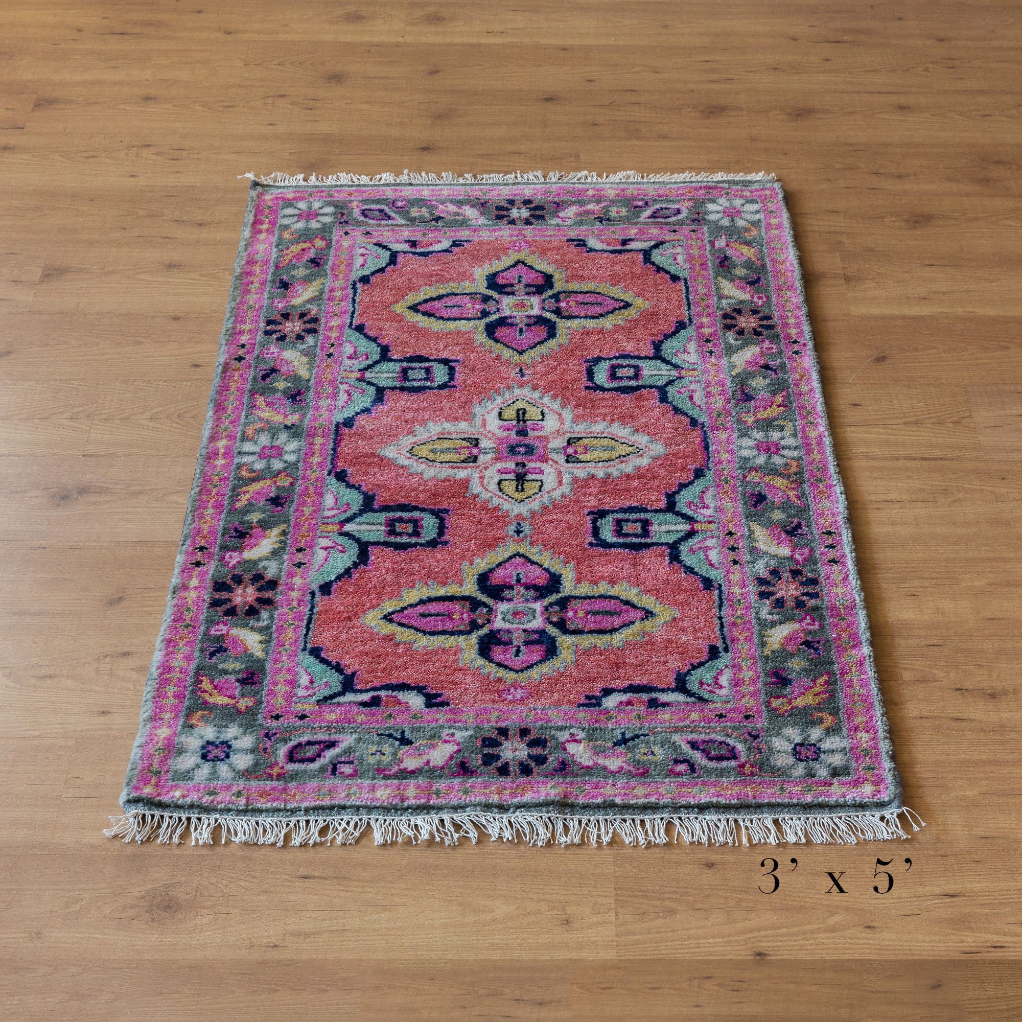 Bathroom Rugs Persian: A Stunning Antique-inspired Persian Rug Created To