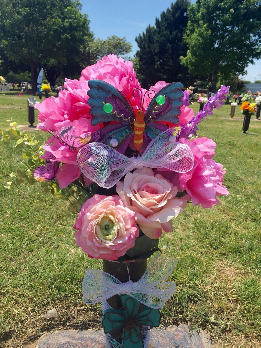 Summer 2016 baby girls grave flowers flowers for our angel summer 2016 baby girls grave flowers reviewsmspy