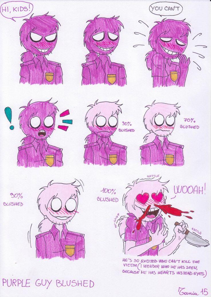 Fnaf purple guy x phone guy lemon