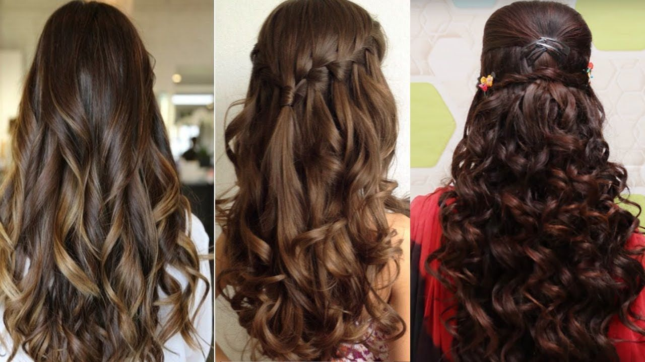 easy hairstyles for curly hair   cute hairstyles for curly