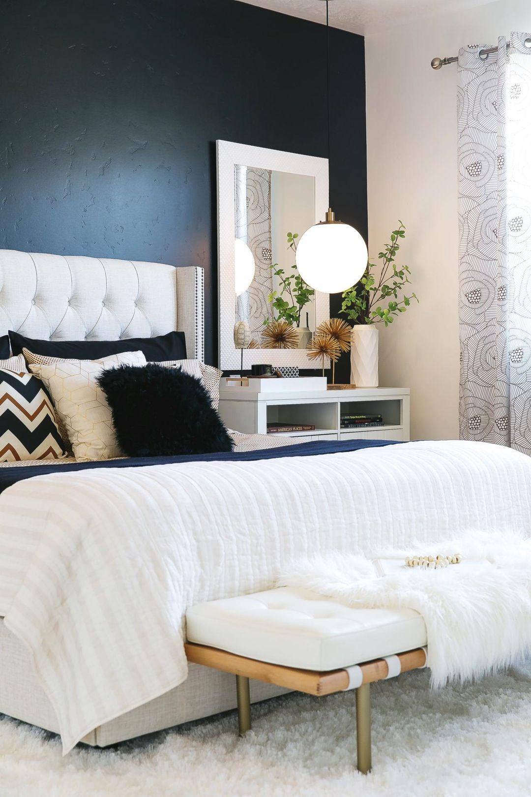 White master bedroom decor  Incredible White Master Bedroom Interior Design  Master bedroom