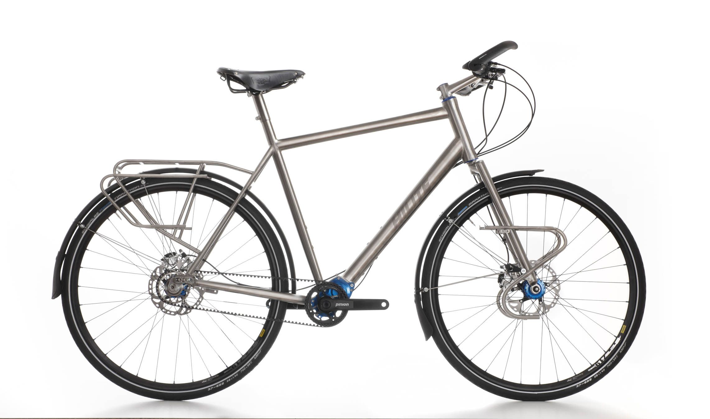 The New Titanium Pinion World Traveller 29er Would Also Be A