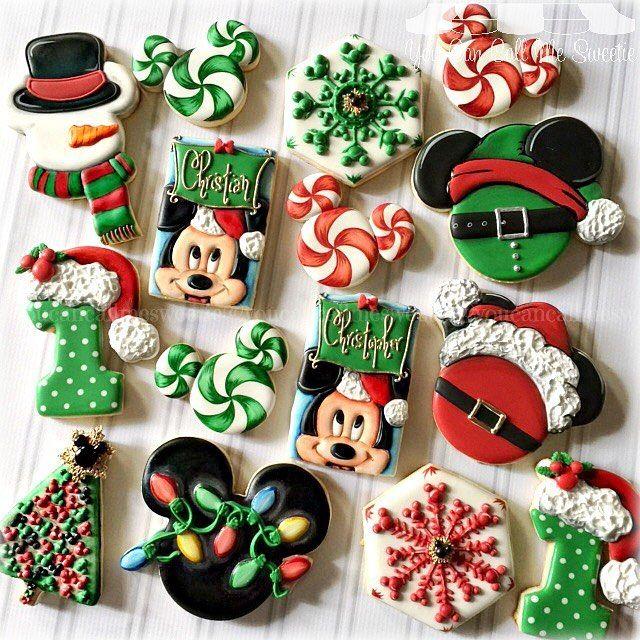 Pin By The Bearfoot Baker Lisa On Christmas Cookies Disney