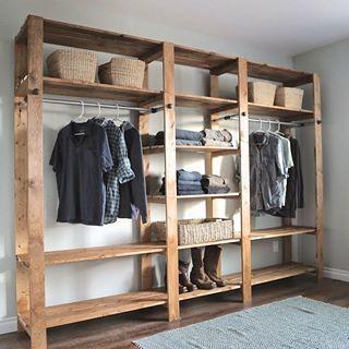 Less is more dise o de interior para apartamento - Armarios abiertos baratos ...