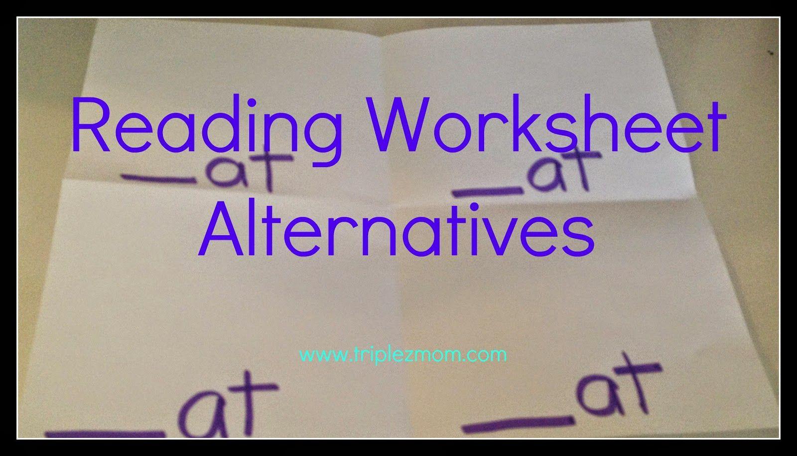Home Reading Activities