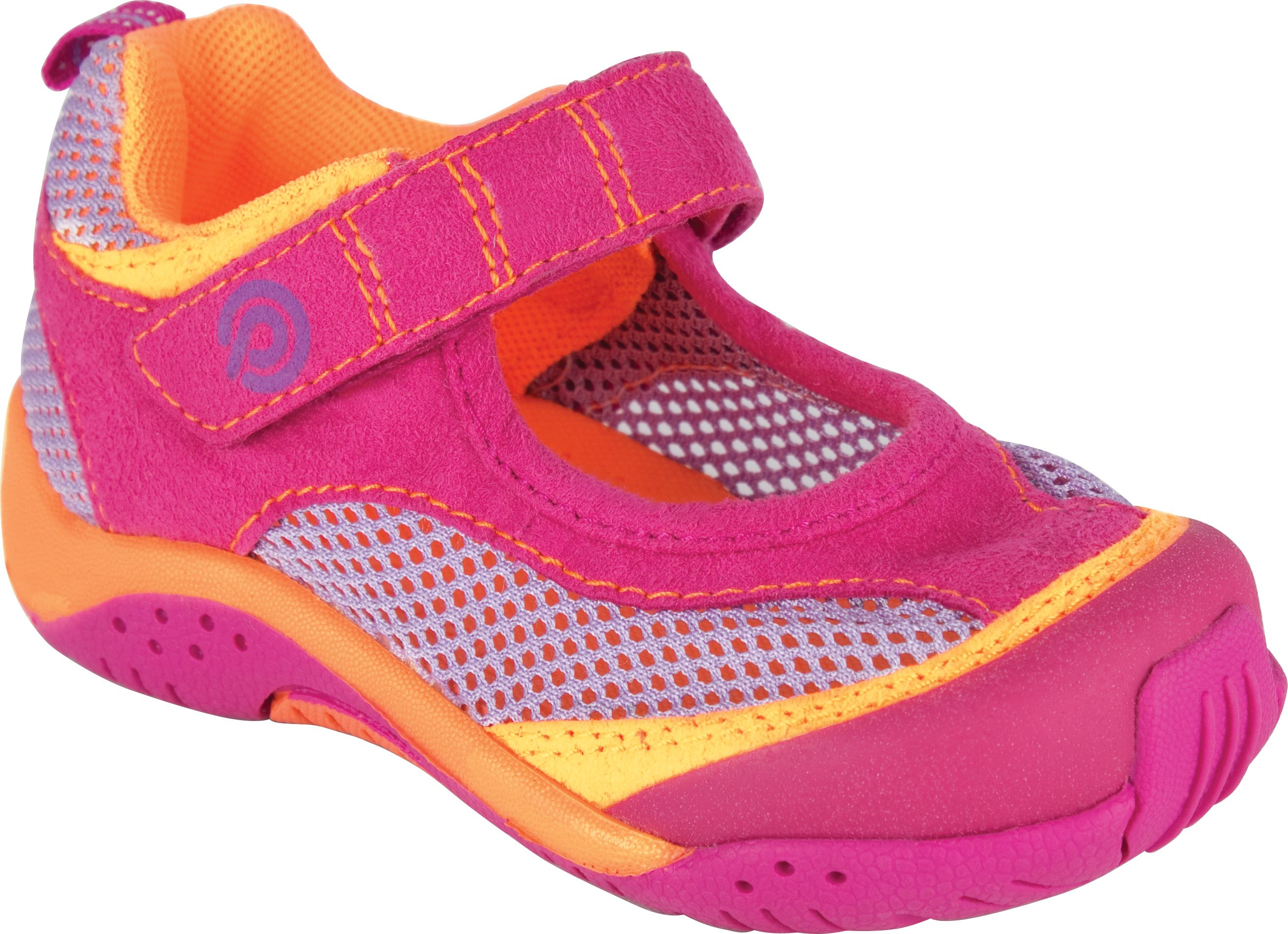 pediped water safe Darcy Fuchsia Orange Outdoor shoes for kids