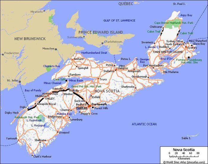 Digby Nova Scotia Map Digby Nova Scotia Pinterest Nova - Nova scotia map