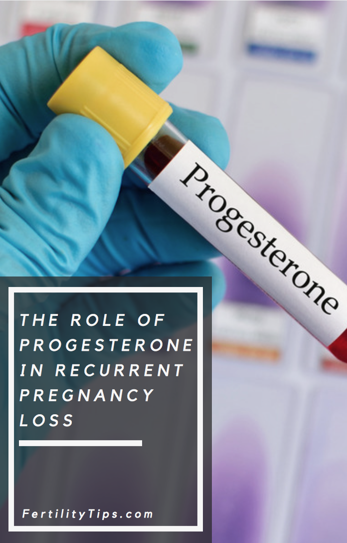 The Role Of Progesterone In Recurrent Pregnancy Loss The Role of Progesterone in Recurrent Pregnancy Loss Pregnancy pregnancy loss