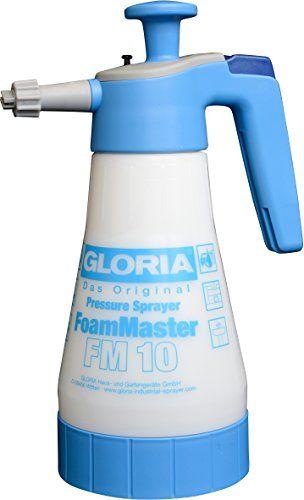 GLORIA FM10 1.0 Litre FoamMaster Hand-Operated Foam Sprayer 3 bar