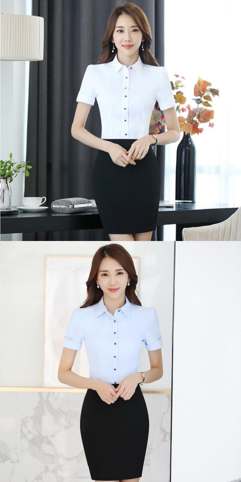 4663187c518fb Ladies Office Short Sleeve Shirts - BCD Tofu House