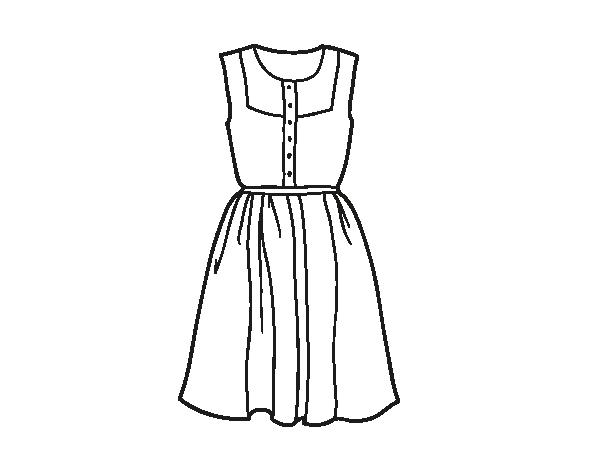desenhos de vestidos de festa curto para colorir pesquisa google
