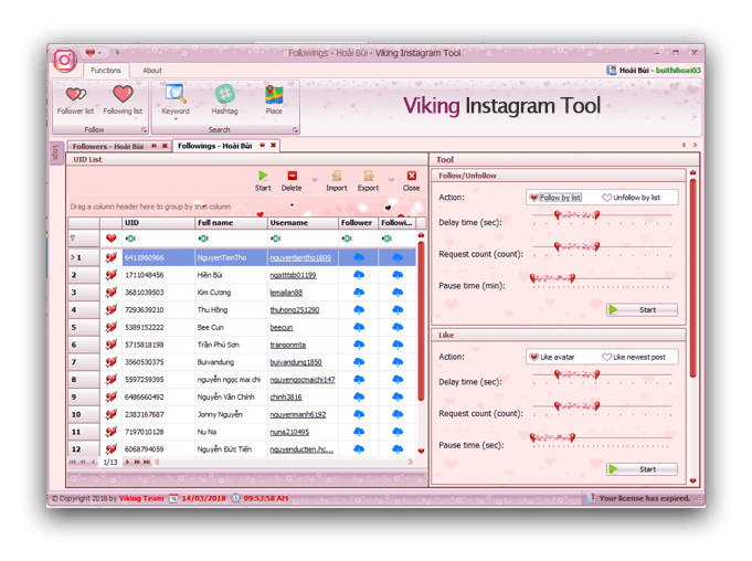 Get Vikings Instagram tool Cracked | Nulled and Cracked Tools in