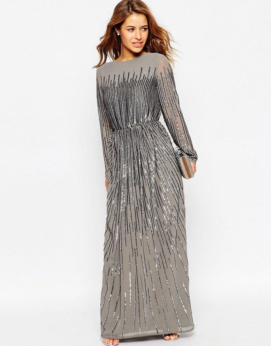 long-sleeve-casual-maxi-dress-1-2 | Modest fashion | Pinterest ...