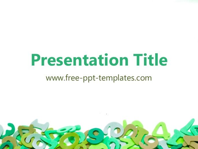 Free Powerpoint Design Templates Math Maths Powerpoint Template