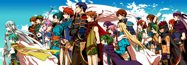 "Crunchyroll - Lily Hoshino Completes ""Fire Emblem"" Tribute Illustration"