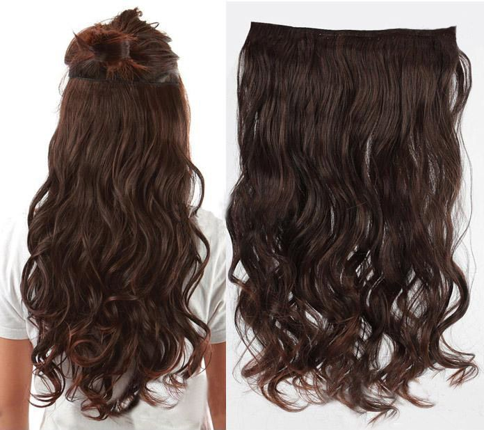 Worry For Thin Hair You Just Need This Flash Clip In Hair Extension