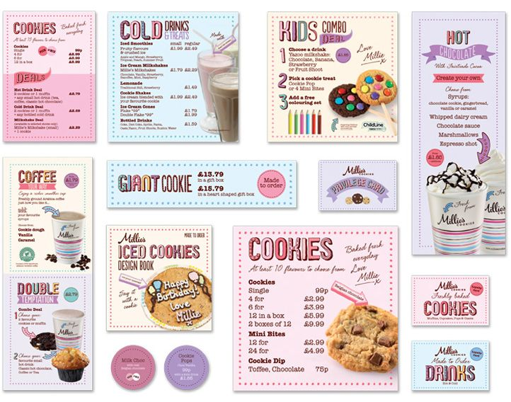 Millieu0027s Cookies by R Design Design, Art Pinterest Brochures - sample preschool brochure