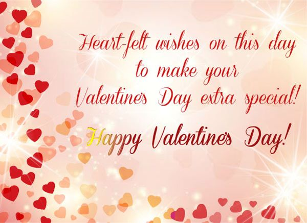 Valentine Greeting To Friend Valentines Day And Love Greetings