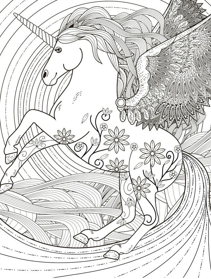 pegasus adult coloring page free download | Ausmalbilder für ...