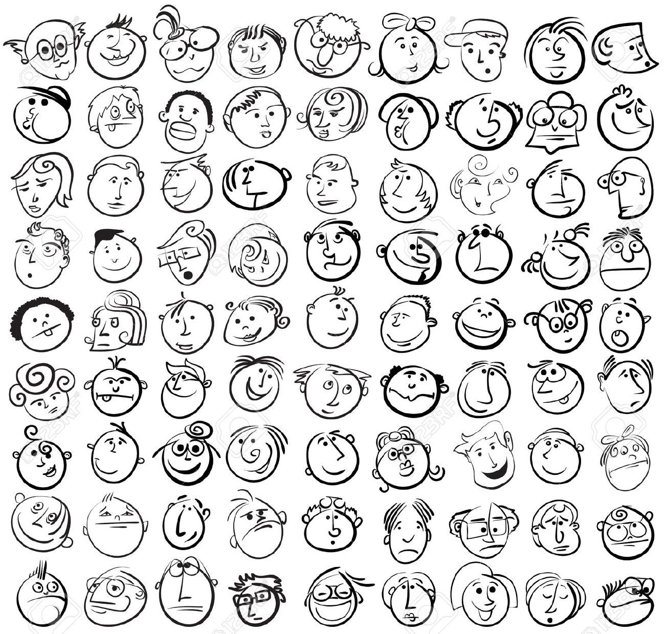 Drawing Funny Faces  Google Search
