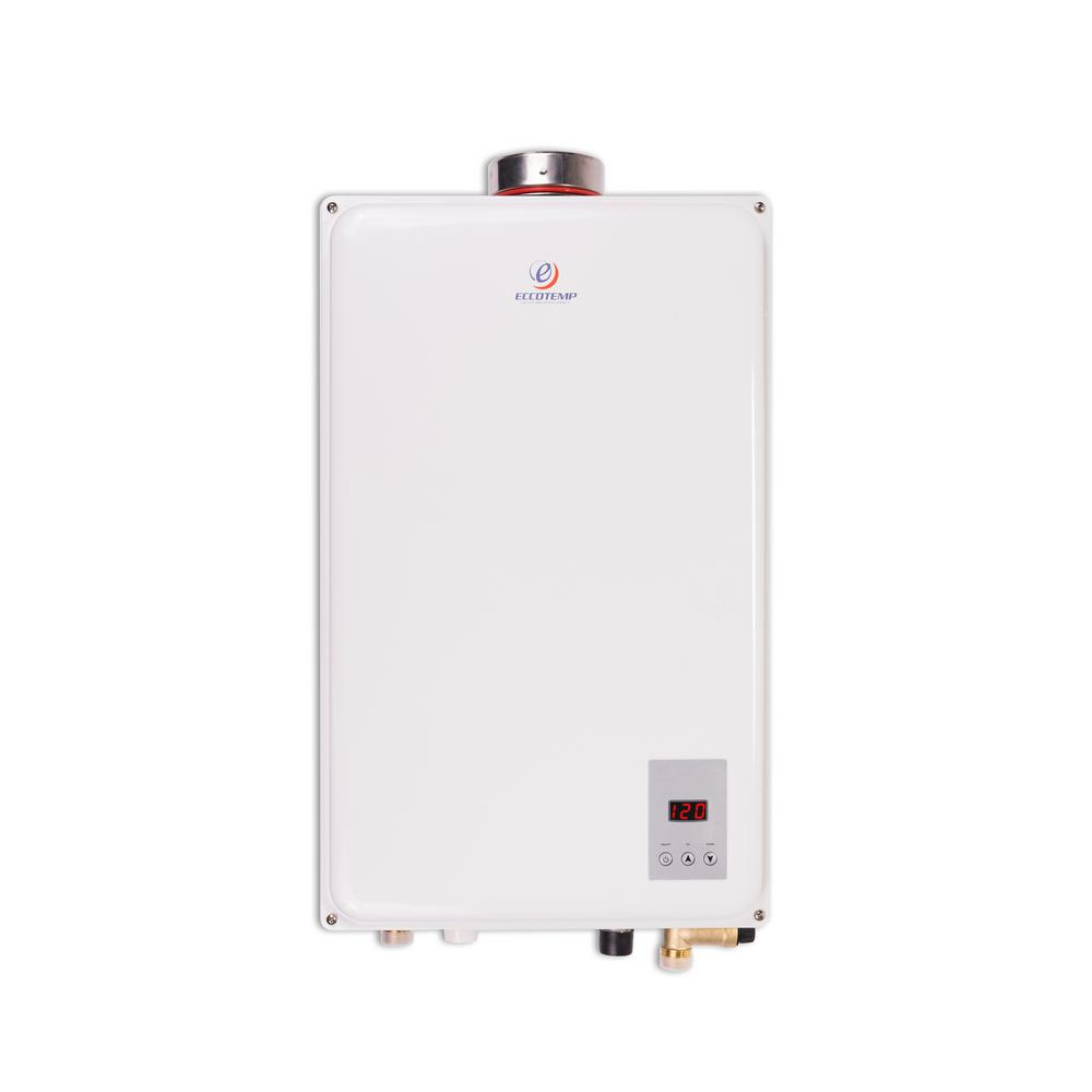 Eccotemp 45hi Lp 6 8 Gpm Wholehome Residential 140 000 Btu Csa Approved Liquid Propane Indoor Tankless Water Heater 45hi Lp Water Heater Installation Natural Gas Water Heater