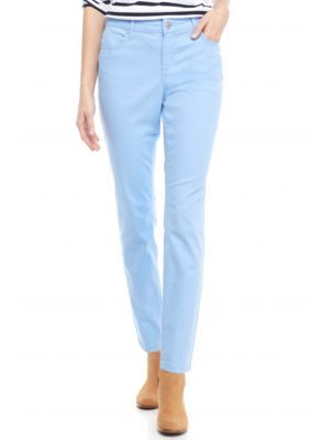 f41a33df07e Crown & Ivy™ Petite Size Color Twill Pants | Products | Twill pants ...