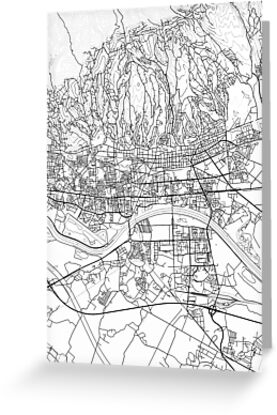 Zagreb Map Poster Print Wall Art Croatia Gift Printable Home And Nursery Modern Map Decor For Office Map Art Map Gifts Mil Map Art Modern Map Map Poster