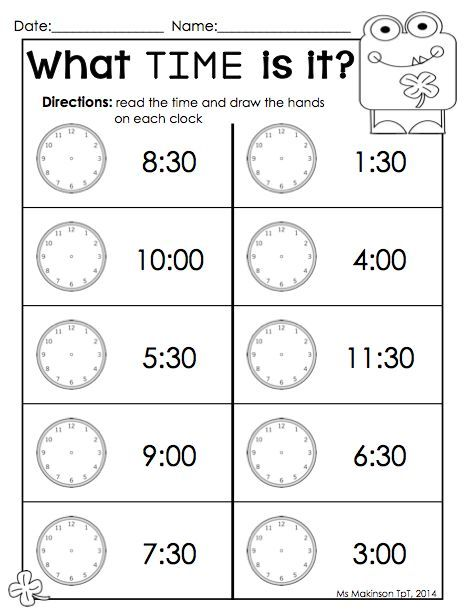 march printable packet  kindergarten literacy and math time  march printable packet  kindergarten literacy and math time worksheet  perfect for st patricks day ms makinson