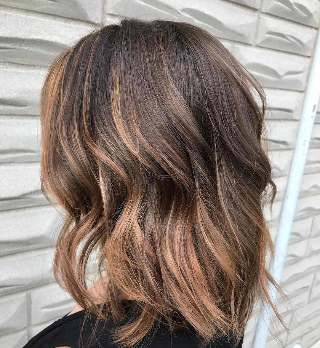 Балаяж на крашеные волосы