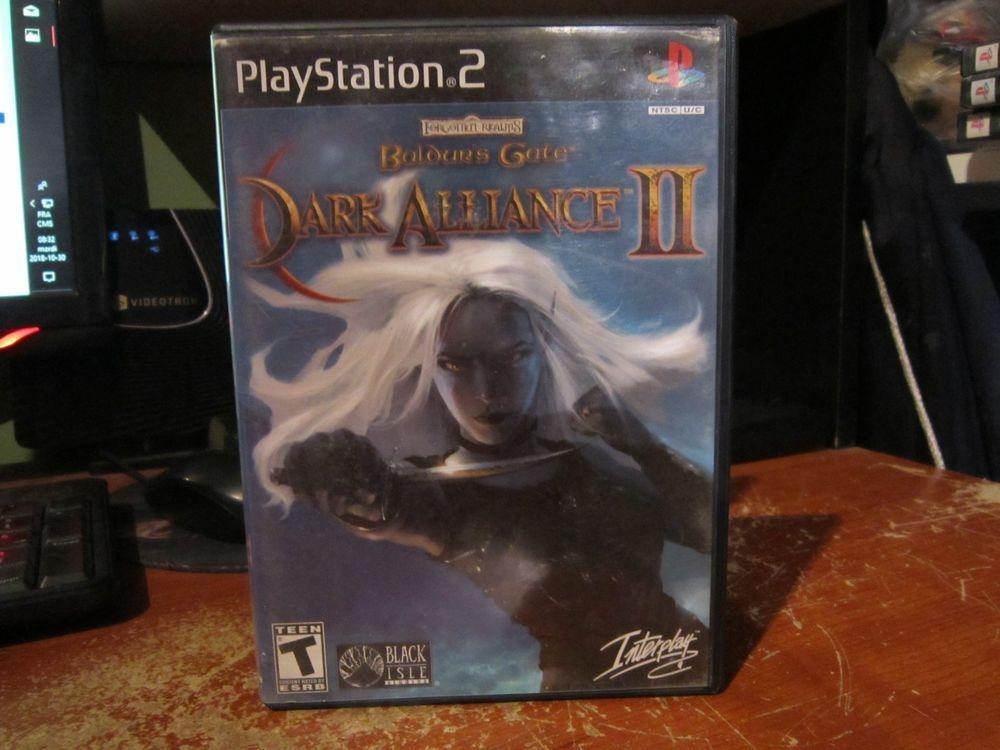 Baldur S Gate Dark Alliance Ii Complete Sony Playstation 2