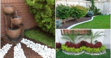 10 Ideas Para Decorar Paredes De Forma Creativa Con Fotografias Pequenos Patios Jardin Decorar Jardines Pequenos Ideas Para Decorar Jardines