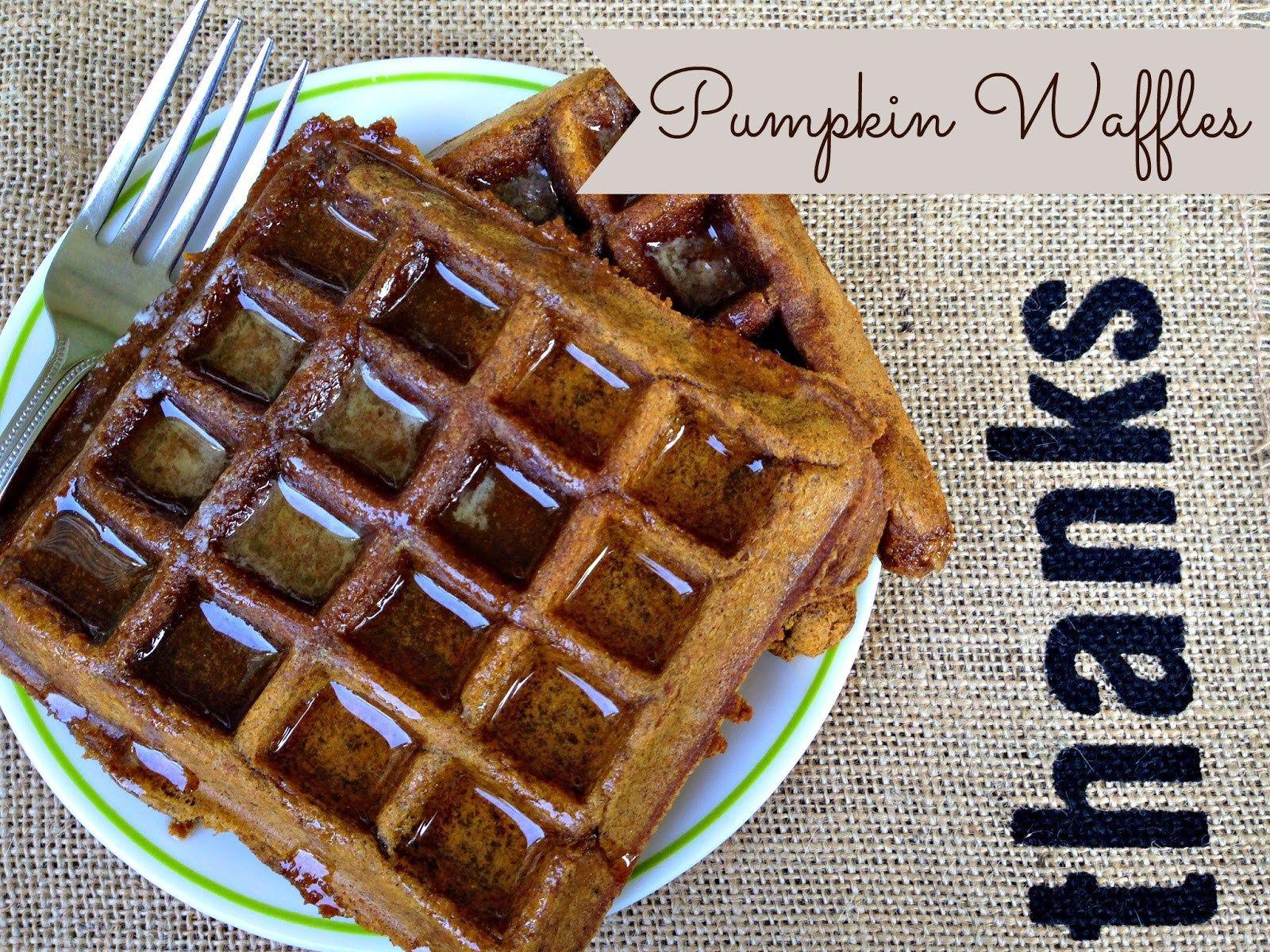 Pumpkin Spice Waffles (Vegan, GlutenFree) Recipe