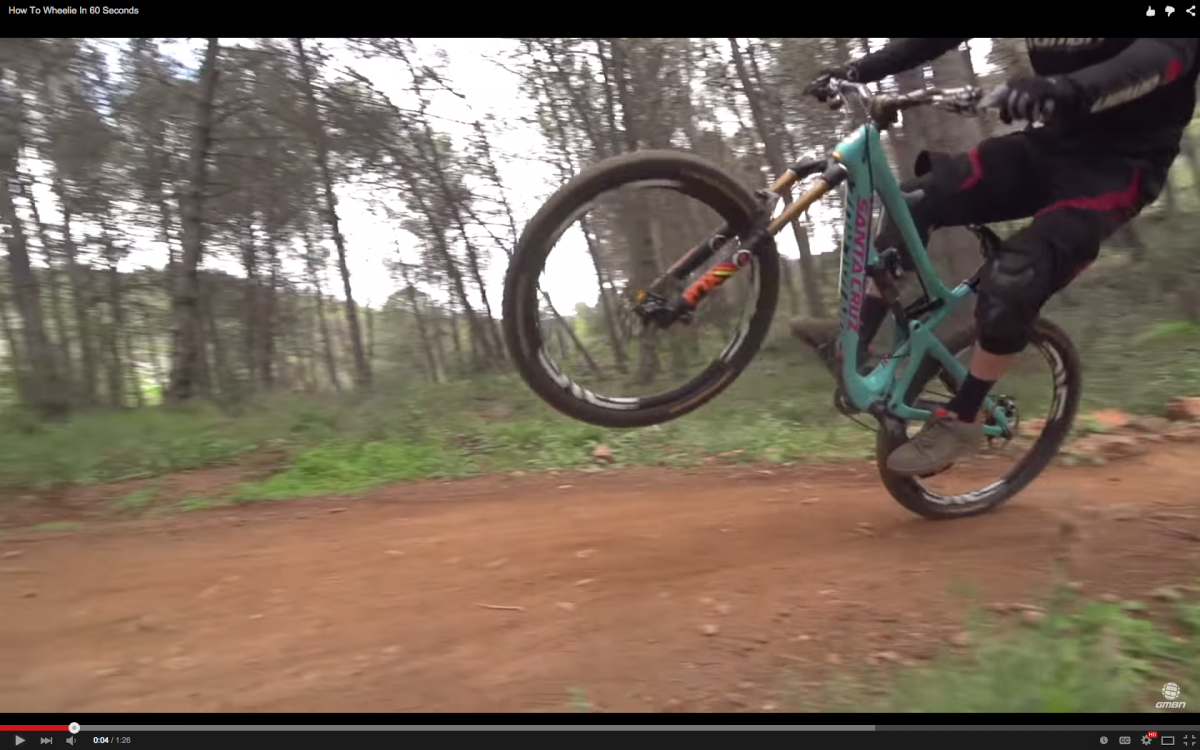 Video How To Wheelie In 60 Seconds With Images Mountain