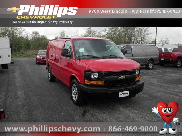 2012 Chevrolet Express 1500 Victory Red 9555728 Internet Priced