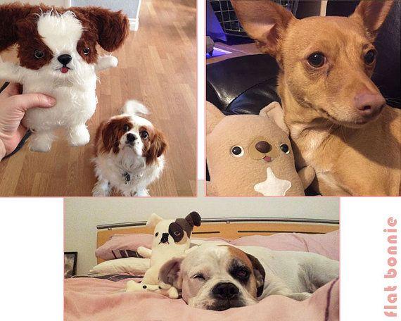 Custom Dog Stuffed Animal Stuffy Toy Of Your Puppy Dog Etsy Personalized Dog Toys Dog Stuffed Animal Custom Dog