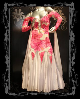 Sriani lovely floral dress front