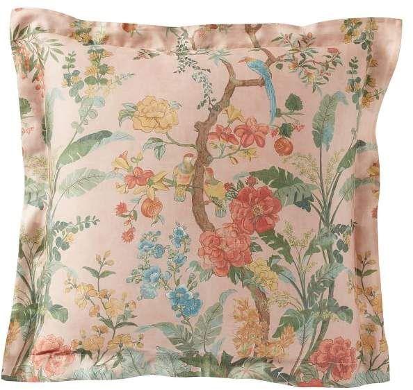 Mariella Reversible Tencel Printed Sham Floral Bedding