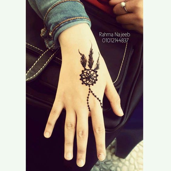 13 Unique Henna Designs Doing The Rounds This Wessing: Unique And Easy Mehndi Design Latest Images For Back Hands