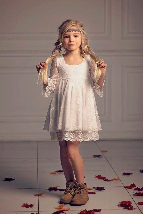 Mädchen-Weihnachtskleid, erste Kommunion Kleid ...
