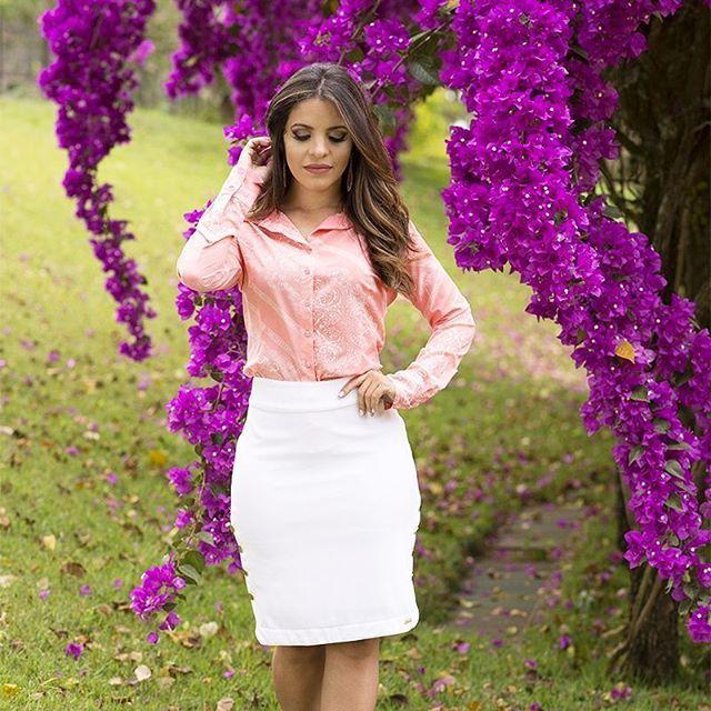{Lindo e Elegante Conjunto @monia_modas} @monia_modas  www.monia.com.br