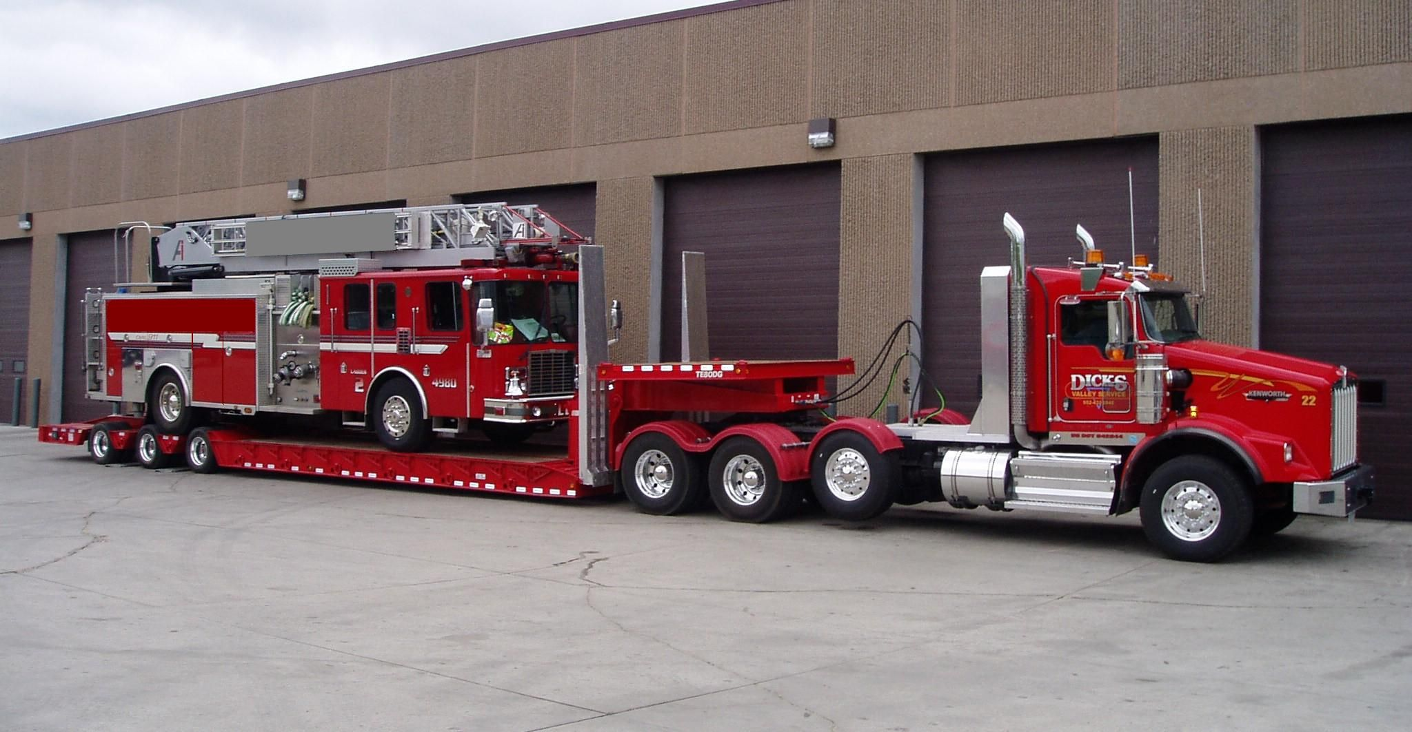 O Hare Towing Service Downers Grove Il Kenworth T800 W Century